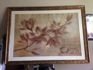 Pictures/paintings with frames and oil painting on canvas