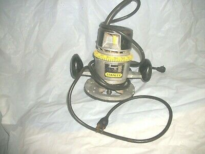 Vintage Stanley Router Electric Works Good