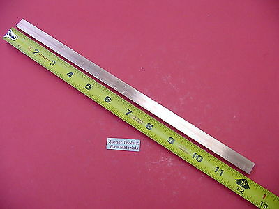 14x 12 C110 Copper Bar 12 Long Solid Flat .25 Bus Bar Stock H04