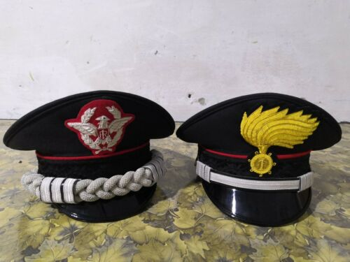 Set of two Italian Police Carabinieri Hat Italy