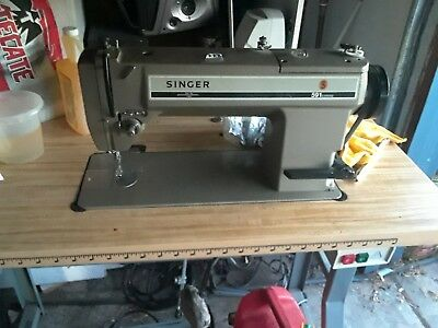 Singer 591 Industrial Sewing Machine Used
