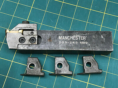 Manchester Rh Grooving Tool Holder Model 203-245
