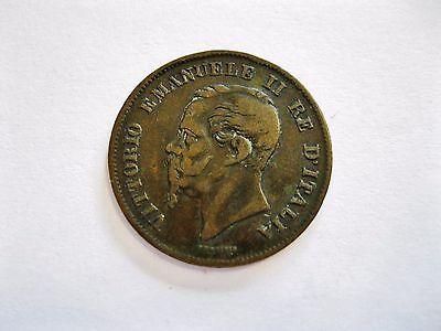 """Italien  5 Centesimi  1861 M  """"Vittorio Emanuele II."""""""