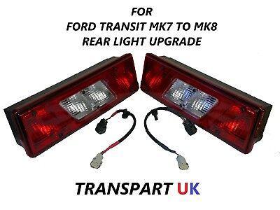 TRANSIT TIPPER MK6 MK7 MK8 PICKUP TRUCK RECOVERY LUTON REAR TAIL LIGHT LAMP LOOM