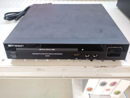 Emerson GQ100 Karaoke CD Player