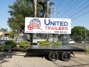 12x8 HEAVY DUTY Table Top Flat Top Trailer 2000KG ATM LOCAL MADE Penrith Penrith Area Preview
