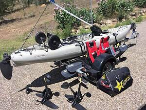 HOBIE - Mirage OASIS Tandem KAYAK on Trailer Kooralbyn Ipswich South Preview
