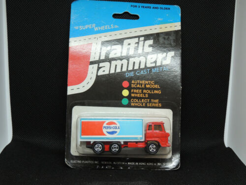 Pepsi Cola Die Cast Metal Traffic Jammers in original package (13685)