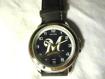 MLB MILWAUKEE BREWERS Wrist Watch - NEW**