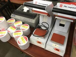 Thermopatch Heat Seal Espon Label Printer Dry Cleaning