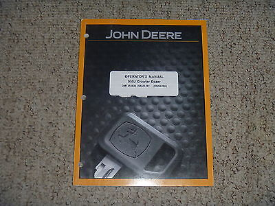 John Deere 950j Crawler Dozer Owner Operator Operation User Manual Omt218824