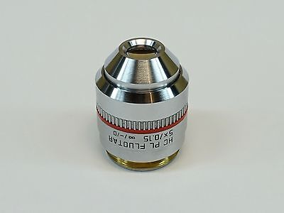 Leica Hc Pl Fluotar 5x0.15 -d Microscope Objective Pn 506504