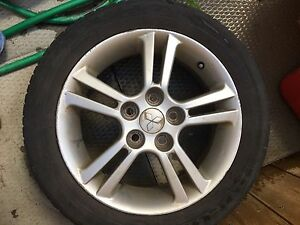 Set of 4 tires and rims 16""