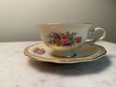 Lot 2 Mid Century Modern Rosenthal Joy Cup and Saucer Brown /& White Studio Linie