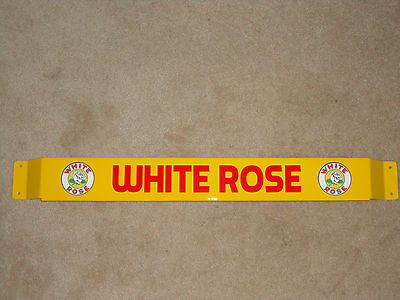 30'' Door push bar retro antique vintage White Rose gasoline sign advertsing