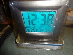 2001 EQUITY DIGITAL ALARM CLOCK BATTERY CALENDAR TEMPERATURE JUMBO DISPLAY NEW