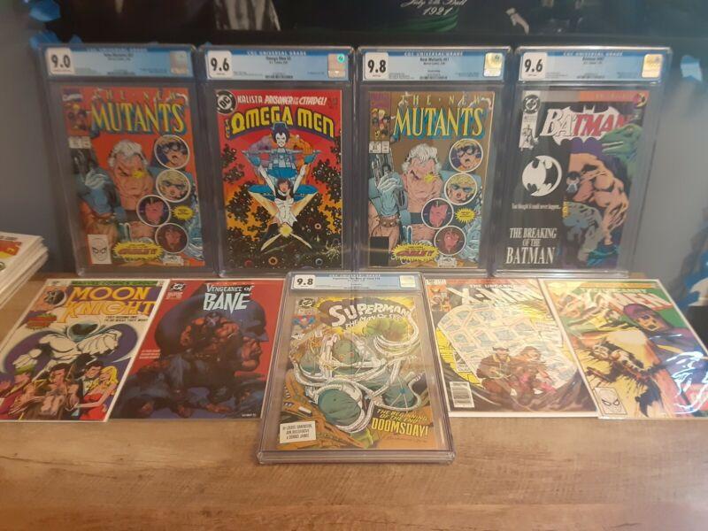 Marvel/DC Comic Book Grab Bag (Read description) Moon Knight#1 Xmen 141+2 prizes