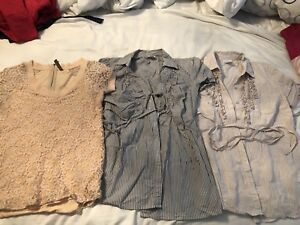 Size small maternity tops and bathing suit