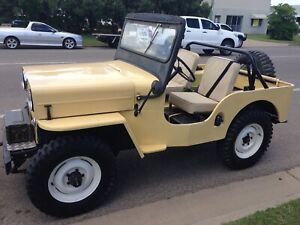 willys jeep   Cars & Vehicles   Gumtree Australia Free Local