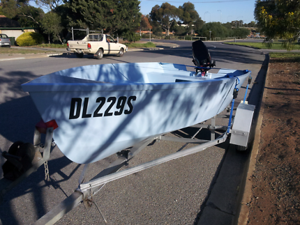 Boat, Mushula 14, trailer, 30hp Mercury