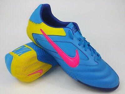 a34b3c743 Nike Mens Rare Nike5 Elastico Pro Blue 415121-467 Indoor Soccer Shoes Size  10
