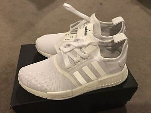 Adidas nmd triple white UK7 South Yarra Stonnington Area Preview