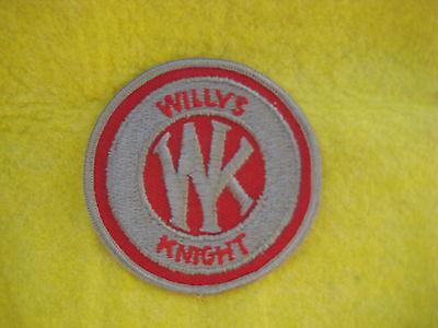 Vintage Willys Knight  Uniform Dealer Patch 3   X 3