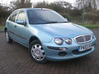 2003 53 REG ROVER 25 2.0TD iL ONLY 35,000 mls