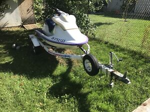 1996 seadoo spi 580 with trailer