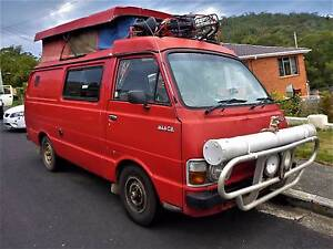 1982 Toyota Hiace Classic Poptop Camper South Hobart Hobart City Preview