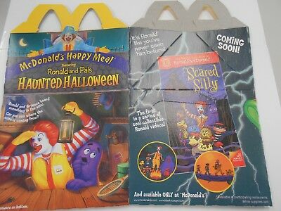 McDonald's Happy Meal box- Halloween themed-1998 USA- UNUSED- TAKE A LOOK!](Halloween Themed Meals)