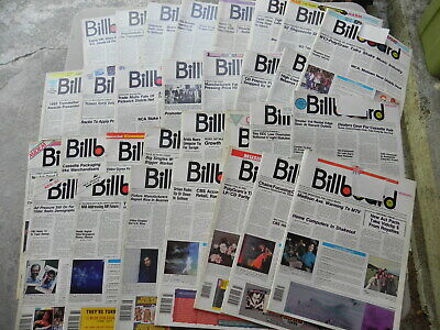 1983  BILLBOARD Magazine Lot of 30 Weeks you get 30 Magazines all have label