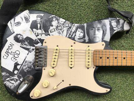Custom magnum electric guitar