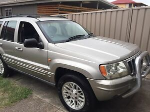 2002 Jeep Grand Cherokee Limited V8 Newcastle Newcastle Area Preview