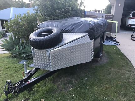 Off road camper trailer - custom made, 18 ft tent 2012 Reedy Creek Gold Coast South Preview