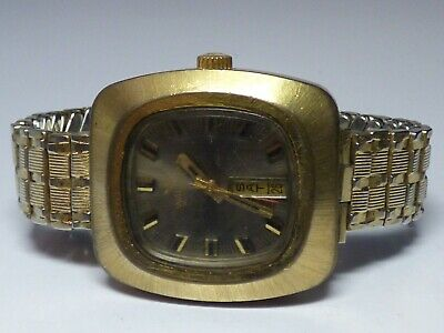 Vintage Waltham Elgin Automatic Day Date Calendar Bracelet Watch