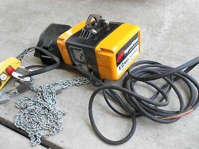 Ingersoll Rand Quantum 12 Ton Electric Hoist Qch50-ind50p15-11a3c C M Hoist
