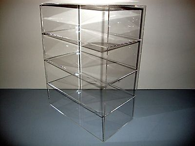 305displays Acrylic Lucite Countertop 12 X 7 X 16 Display Showcase Cabinet