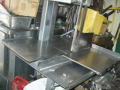 Hobart Meat Saw Model 5701d 2082303 Ph. 3 Hp No Bladehduty 900 More Items