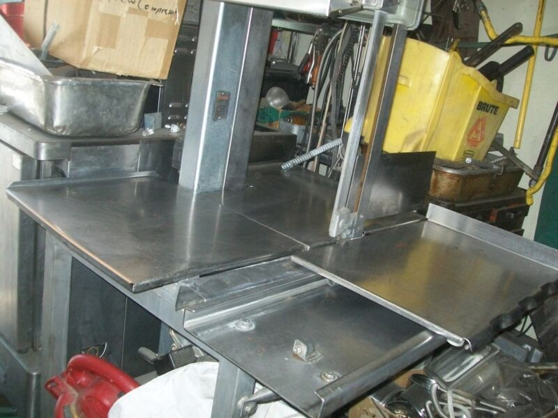 hobart meat saw model 5701d 208/230,3 ph. 3 hp, no blade,H/DUTY  ,900 more items