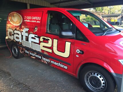 Cafe2u Toowoomba West coffee van franchise  Gowrie Junction Toowoomba Surrounds Preview