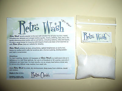 RETRO WASH FOR QUILTS AND LINENS, 1 OZ. BAG ()