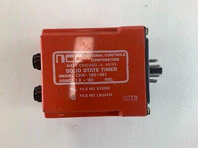 NCC A1M-0999M-462 MULTIPLE RANGE SOLID STATE TIMER  .01SEC-999MIN