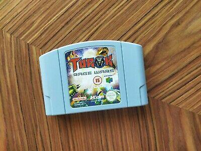 Turok Rage Wars Cartucho Nintendo 64 N64 PAL Envio Combinado
