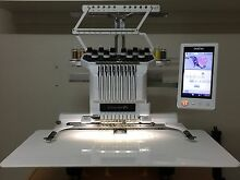 Brother PR1000E 10 Needle Embroidery Machine New Lambton Newcastle Area Preview