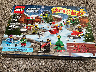Lego City Advent Calendar 60133 - Used, Complete in Original Box. 290 Pieces