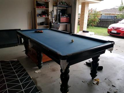 4'x8' slate pool table
