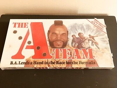 A Team Board Game - VINTAGE 1984 PARKER BROTHERS THE A-TEAM BOARD GAME (Factory Sealed)