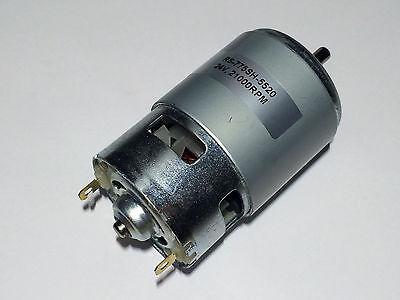 12V - 24V DC Motor Gleichstrom 21000 U/min NEU
