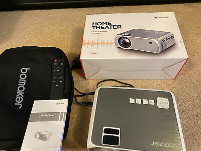 Bomaker GC555 Full HD Projector Home Theatre